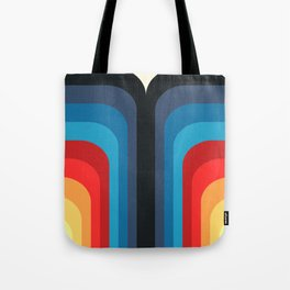 Retro Rainbow 01 Tote Bag