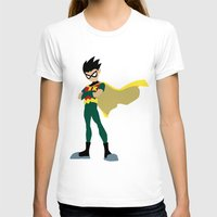 robin T-shirts featuring Robin by karla estrada