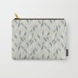 Winter Leaves 11 Carry-All Pouch