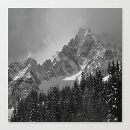 MONT BLANC COUNTRY Canvas Print