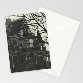 Lockwood Mathews Mansion Etching Stationery Cards