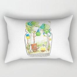 """""""Marshmallow"""" Toasting Rectangular Pillow"""