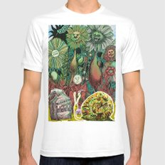 The case of The Wrong Feed On The Ol' Snail Trail... Mens Fitted Tee MEDIUM White