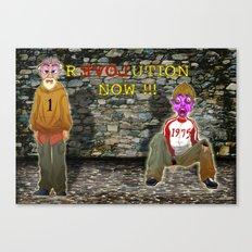 rEVOLution now Canvas Print