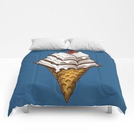 Ice Cream Books Comforters