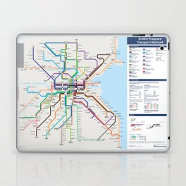 Dublin Frequent Transport Map - Complete Laptop & iPad Skin