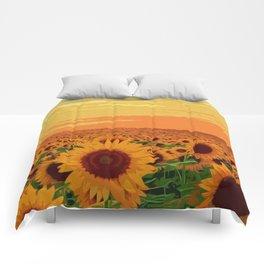 Maryland Sunflowers Comforters