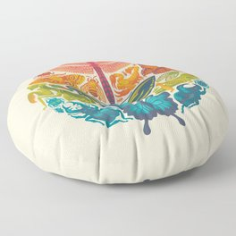 Bugs & Butterflies Floor Pillow
