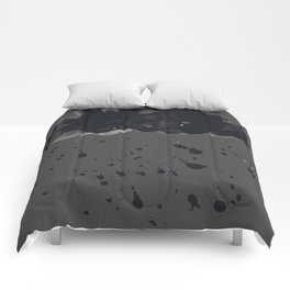 Stormy Black Clouds Version 2 For Earth Day Comforters