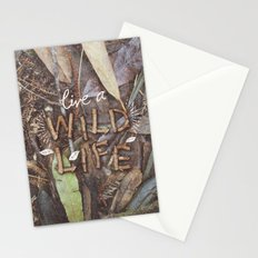 Live a Wild Life Stationery Cards
