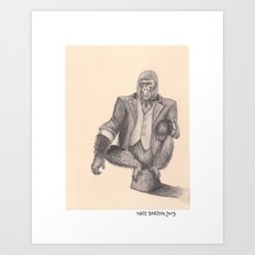 The Ringmaster Art Print