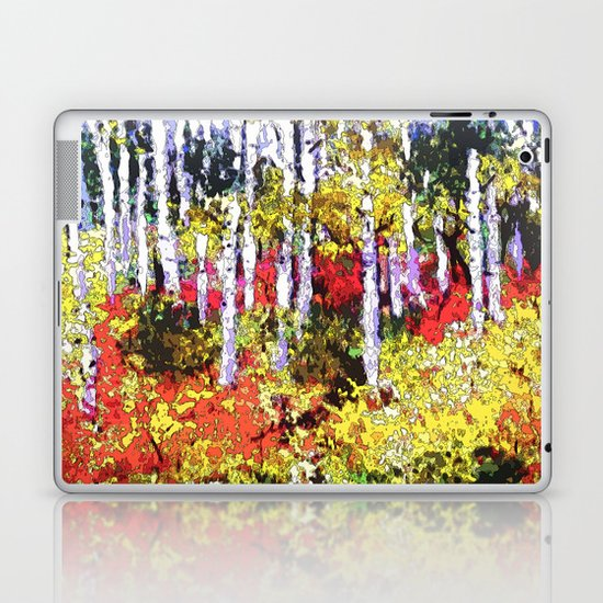 Title: Glorious Colors - digital Silk Screen Laptop & iPad Skin