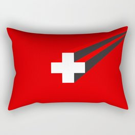 THE SWISS ARE COMING Rectangular Pillow