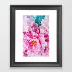 Pink Flower for you Framed Art Print