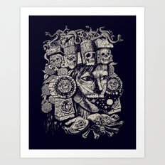 Mictecacihuatl 2 Art Print