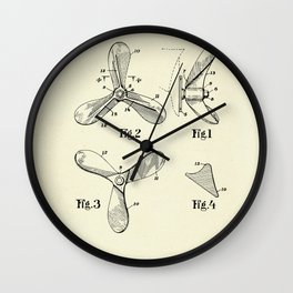Ship Propeller-1935 Wall Clock