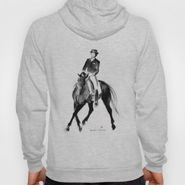Horse (Dressage / half pass) Hoody