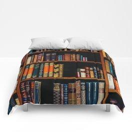 The Bookshelf (Color) Comforters