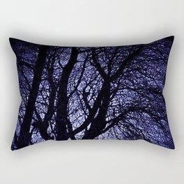 Barren Tree Branches Rectangular Pillow