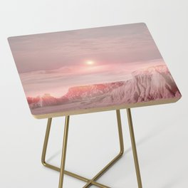 Pastel desert Side Table