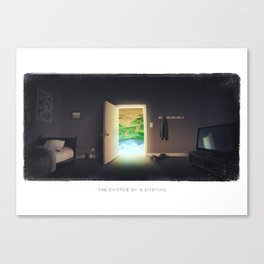 The Chance of a Lifetime Canvas Print