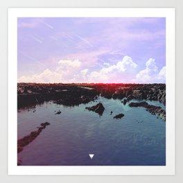 ARRIVAL ∀ Art Print