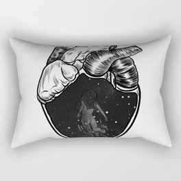 Inside your heart. Rectangular Pillow