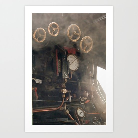 Age of Steam 4 Art Print