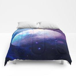 Galaxy Moon Space Comforters
