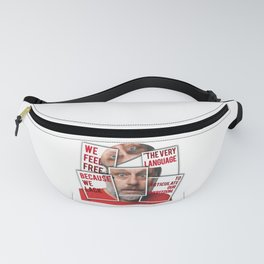 The Real of S.Zizek Fanny Pack