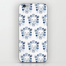 Skull and Flowers iPhone & iPod Skin