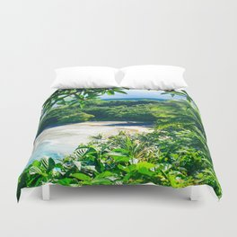 Hamoa Beach Hana Maui Hawaii Duvet Cover