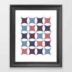 circular points Framed Art Print