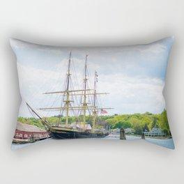 Charles W. Morgan Rectangular Pillow