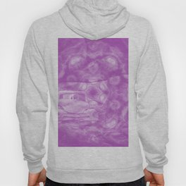 wreck exploding from fracture purple fractal Hoody