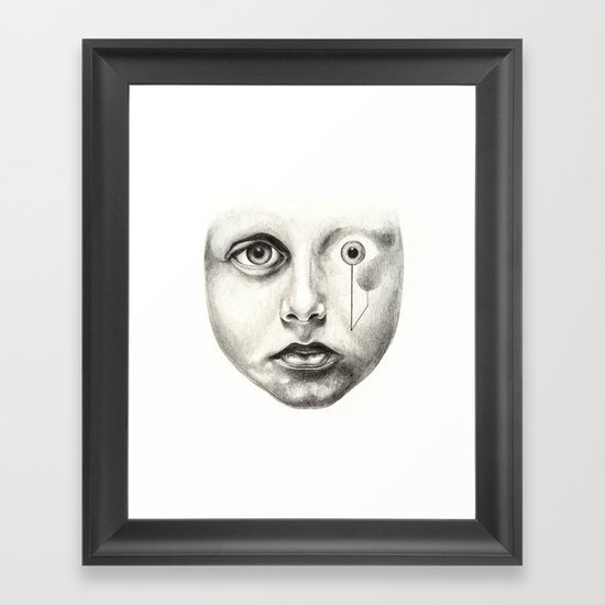 Never been here, how about you? Framed Art Print
