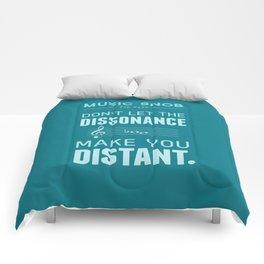 The Dissonance — Music Snob Tip #439 Comforters
