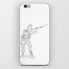 Military Art iPhone & iPod Skin