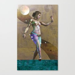 Fatale - Salomé - Gold Canvas Print