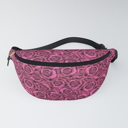 Pink roses. Pattern. Fanny Pack