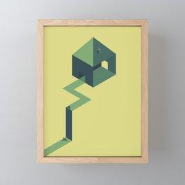 The doubt Framed Mini Art Print