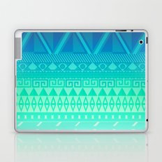 Blue Mayan Laptop & iPad Skin