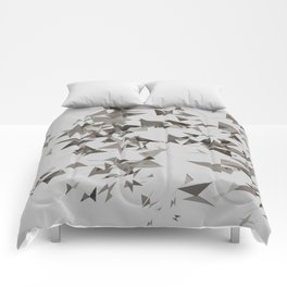 Abstract Composition 386 Comforters