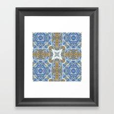 Internal Kaleidoscopic Daze- 4 Framed Art Print