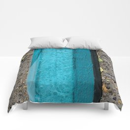 Turquoise Curb Comforters