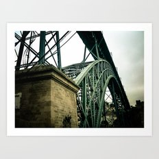 Structure Bridge II Art Print