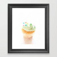 Hey There Cupcake Framed Art Print