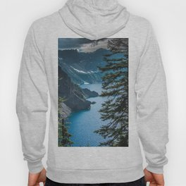 Blue Crater Lake Oregon in Summer Hoody