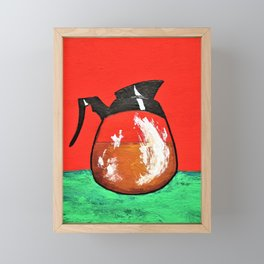 Daily Pick Me Up #319 by Mike Kraus - christmas hanukkah kwanzaa Framed Mini Art Print