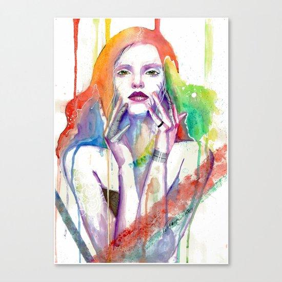 Nobody Knows Canvas Print